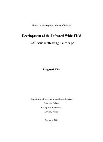 Development of the Infrared Wide-Field Off-Axis Reflecting Telescope