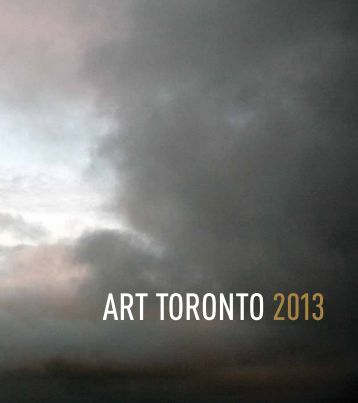 Download 2013 Catalogue - Art Toronto