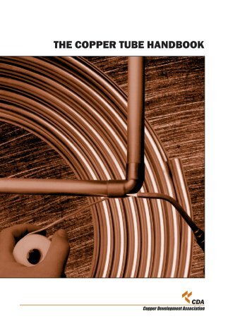 THE COPPER TUBE HANDBOOK - Healthy Heating