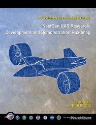 NextGen UAS Research, Development and Demonstration Roadmap