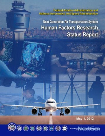 Human Factors Research Status Report - Joint Planning and ...