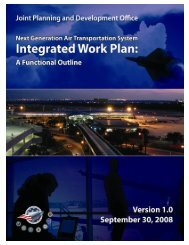 Integrated Work Plan - Joint Planning and Development Office