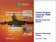 Capacity Needs in the National Airspace System