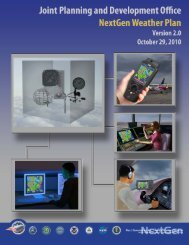 NextGen Weather Plan v2.0 - Joint Planning and Development Office