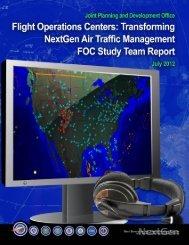 Transforming NextGen Air Traffic Management - Joint Planning and ...