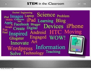 STEM in the iClassroom.PDF