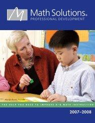 Save 15% - Math Solutions