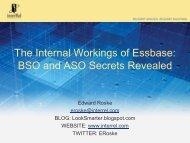 The Internal Workings of Essbase: BSO and ASO Secrets ... - MI-OAUG