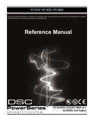 Reference Manual - alarmcentar