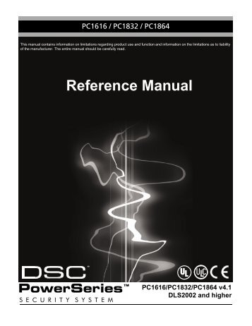 Reference Manual - alarmcentar