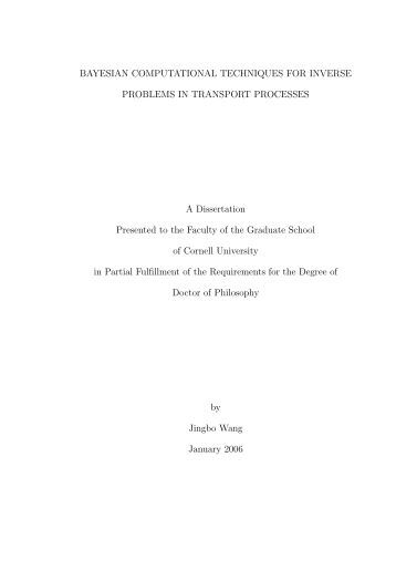 Masters thesis process