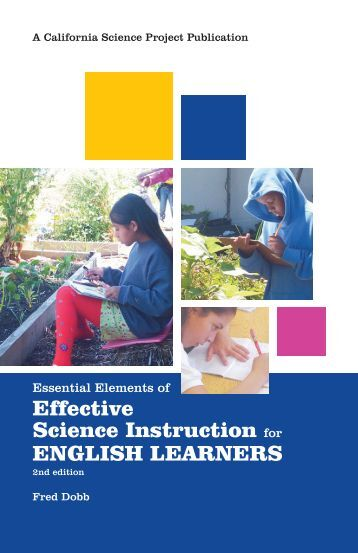 Essential Elements of Effective Science Instruction ... - scienceinquirer