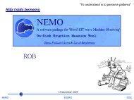 NEMO - Solar Influences Data Center
