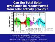 TSI - Solar Influences Data Center