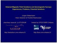 External Magnetic Field Variations and Aeromagnetic Surveys ...