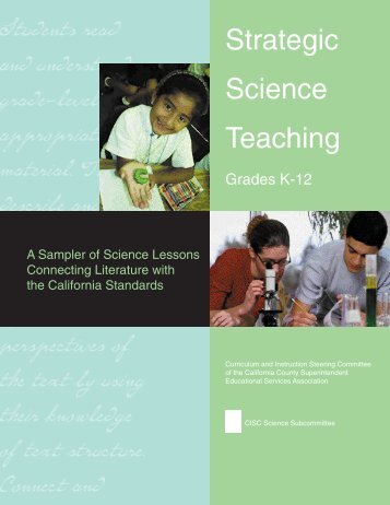 Title Page - Strategic Science Teaching