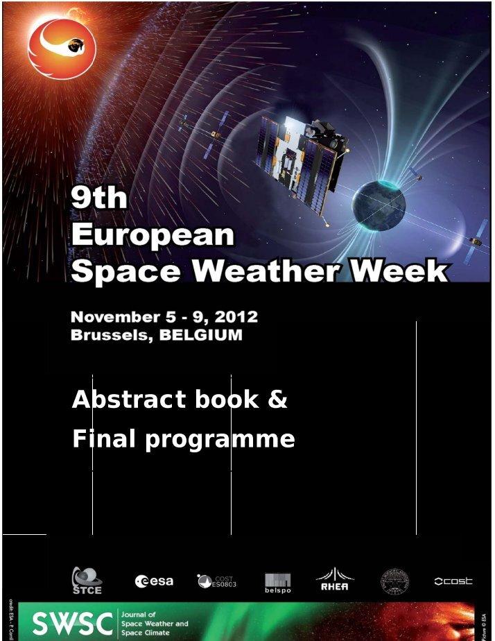 european space weather week - 714×924