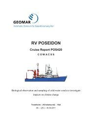 RV POSEIDON Cruise Report POS420 COWACSS - Fiskeridirektoratet