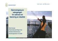 Gjennomgang av saksgangen for søknad om ... - Fiskeridirektoratet