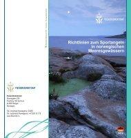 Richtlinien zum Sportangeln in norwegischen ... - Fiskeridirektoratet