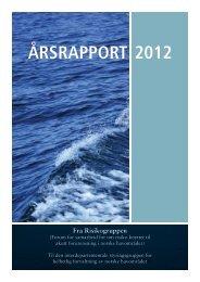 Årsrapport 2012 - Risikogruppen - Fiskeridirektoratet