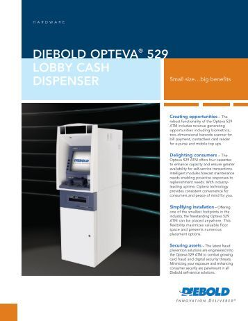 Download the Brochure (PDF) - Diebold