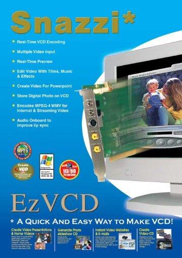 EzVCD Datasheet A5.pdf - Snazzi