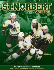 Media Guide (PDF) - St. Norbert College