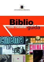 guida biblioteca - Centro Sperimentale di Cinematografia