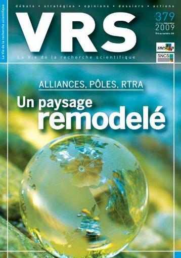 voir VRS 379 - SNCS