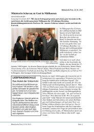 Artikel aus der Rheinischen Post vom 22.01.2013