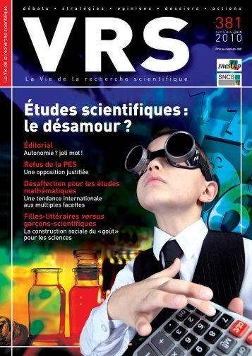 VRS 381 - SNCS