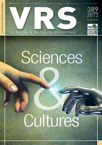 La Vie de la recherche scientifique - SNCS