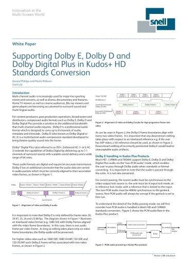 dolby digital professional encoding guidelines educypedia the rh yumpu com