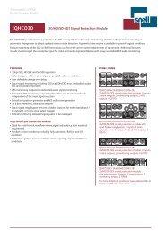 IQHCO30 3G/HD/SD-SDI Signal Protection Module - Snell