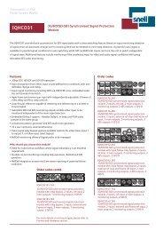 IQHCO31 3G/HD/SD-SDI Synchronized Signal Protection ... - Snell