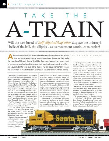 Take the A Train - Amazon Web Services