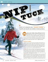 """Nordic ski companies give """"RUGGED TOURING"""" a facelift and ..."""