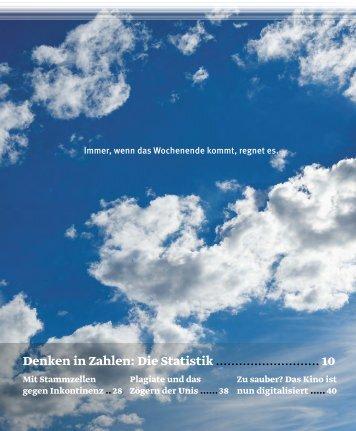 Forschungsmagazin Horizonte (PDF, 12 MB) - Schweizerischer ...