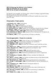 NFP22_Publikationnen_27.04.05.doc - Schweizerischer ...