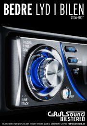 MDS - CARSound Bilstereo