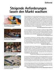 Steigende Anforderungen lassen den Markt ... - Snfachpresse.de
