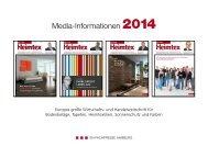 Mediadaten - beim SN-Fachpresse Verlag