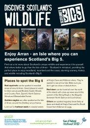 leaflet - Scottish Natural Heritage