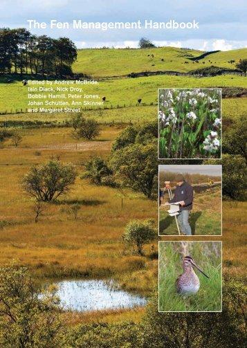 Fen Management Handbook - Scottish Natural Heritage