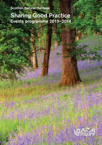 View a pdf of the full programme - Scottish Natural Heritage