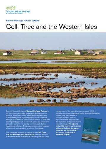 Coll, Tiree and the Western Isles - Scottish Natural Heritage