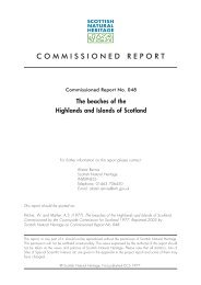 The beaches of the Highlands and Islands of Scotland. Report No. 048