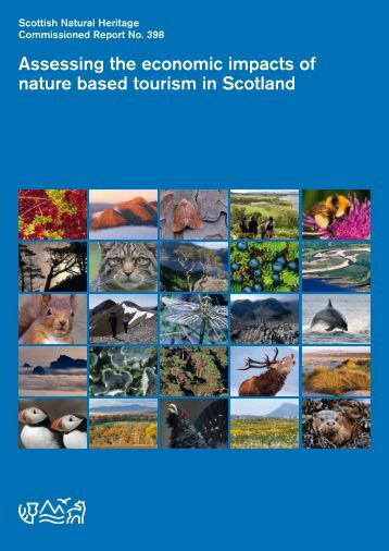 Assessing the economic impacts of nature based tourism in Scotland