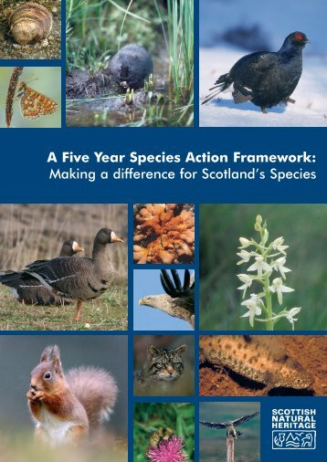 A Five Year Species Action Framework - Scottish Natural Heritage